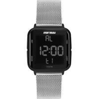 Relógio Mormaii Unissex Prata Mo6600Ag8K - Unissex-Prata