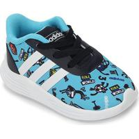 Tênis Infantil Adidas Lite Racer 2.0 - Unissex-Azul Claro