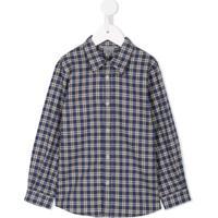 Farfetch  Bonpoint Camisa Xadrez  Agile  - Azul 8498545251a