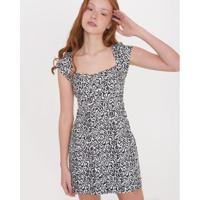 Vestido Zebra Loja Três - Feminino