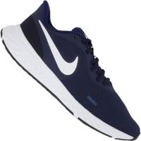 Tênis Nike Revolution 5 - Masculino - Azul Esc/Branco