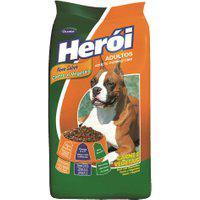 Ração Para Cães Herói Adultos Sabor Carne E Vegetais 25Kg