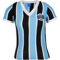 Camisa Grêmio Retrô 1973 Nº7 Feminina - Feminino