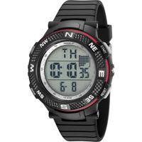 Kit De Relógio Digital Speedo Masculino + Fone De Ouvido - 81195G0Evnp2K1 Preto