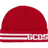 Gcds Gorro Com Logo - Vermelho