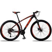 Bicicleta Aro 29 Ksw Xlt 27V Câmbios Shimano Acera M3000 Freio A Disco Hidráulico Com Trava - Unissex