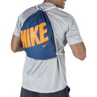 Gym Sack Nike Aop - Azul Esc/Laranja
