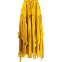 Twin-Set Saia Longa - Amarelo