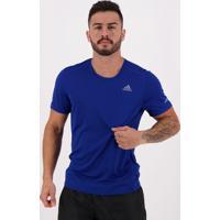 Camiseta Adidas Run It Tee Azul