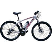 Bicicleta Tecbike Elétrica Tecultra Branca