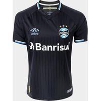Camisa Grêmio Iii 2018 S/N° Torcedor Umbro Masculina - Masculino