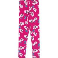 Legging Floral- Rosa Escuro & Branca- Lecimarlecimar