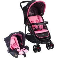 Carrinho De Bebê Com Bebê Conforto Cosco Nexus - 0 A 15Kg - Unissex-Rosa