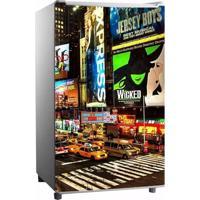 Adesivo Sunset Adesivos De Frigobar Envelopamento Porta Times Square