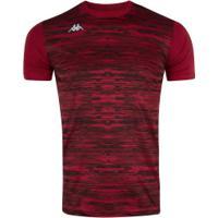 Camisa Kappa Jenner - Masculina - Vermelho