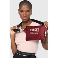 Bolsa Colcci Fitness Envelope Vinho