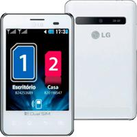 "Celular Lg Optimus L3 Dual E405 - 2Gb - 3G - Dual Chip - 3.2Mp - Tela De 3,2"" - Android 2.3"