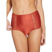 Calcinha Alta Hot Pant Desert Cinnamon P