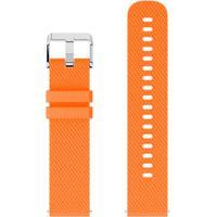 Pulseira De Silicone Tudo Smartwatch Para Xiaomi Amazfit Bip Lite Laranja