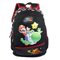 Mochila Super Mario 87298581 Preta