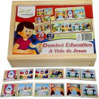 Dominó Educativo A Vida De Jesus - Fundamental