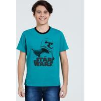 Camiseta Juvenil Estampa Stormtrooper Disney