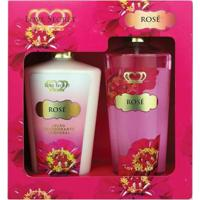 Kit Loção Corporal + Body Splash Love Secret Rosé - Unissex-Incolor