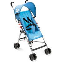 Carrinho De Bebê Guarda-Chuva Weego Way Azul Bb507