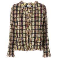 Etro Tweed-Knit Cardigan - Verde