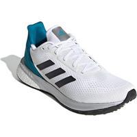 Tênis Adidas Astrarun Feminino - Feminino-Branco+Azul