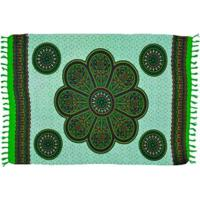 Canga Shopping Bali Mandala New Coin - Feminino-Verde Escuro