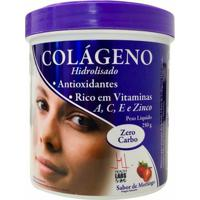 Colágeno Hidrolisado - 250G - Health Labs - Morango