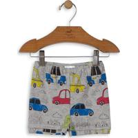 Short Carros- Cinza & Azulup Baby - Up Kids