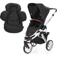 Carrinho De Bebê Abc Design Salsa 3 + Confort Seat Liner Piano