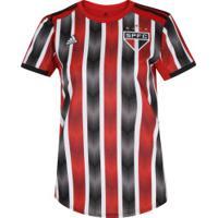 Camisa Do São Paulo Ii 2019 Adidas - Feminina - Vermelho/Preto