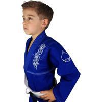 Kimono Infantil Trançado Black Ace Player - Unissex