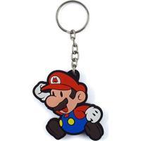 Chaveiro Cute Mario Geek10 Vermelho
