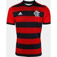 Camisa Flamengo I 18/19 S/N° Torcedor Adidas Masculina - Masculino