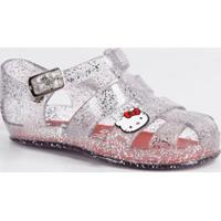 Sandália Infantil Glitter Hello Kitty