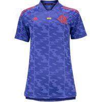 Camisa Do Flamengo Pride Adidas - Feminina