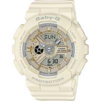 Relógio Feminino Casio G-Shock Baby-G Analógico Digital Ba-110Ga-7A2Dr Branco
