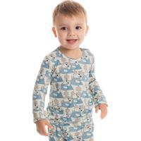 Pijama Polar Infantil Unissex