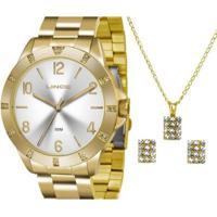 Relógio Feminino Lince - Lrg4367L K187S2Kx - Unissex-Dourado