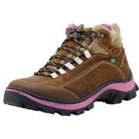 Bota Atron Shoes Adventure Marrom/Rosa