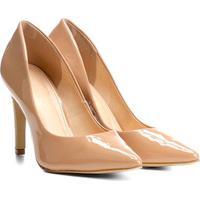 Scarpin Shoestock Salto Alto Verniz - Feminino