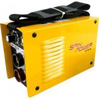 Máquina Inversora De Solda Spin Power 140M Amarelo Vulcan Ferramentas 220V