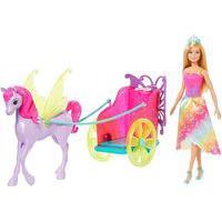Barbie Dreamtopia Princesa Com Carruagem - Mattel