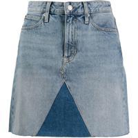Calvin Klein Jeans Saia Jeans - Azul