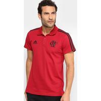 Camisa Polo Flamengo Adidas 3 Stripes Masculina - Masculino