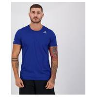 Camiseta Adidas Run It Azul